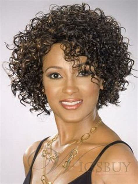 women tight perm hair short curly permed hairstyles