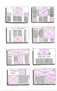 editorial layout template magazine daniellesdooodles