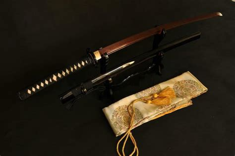 Handmade Japanese Swords - handmade japanese samurai sword katana black folded