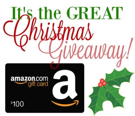 Amazon Gift Cards Near Me - great christmas 100 amazon gift card giveaway day 25 enter every day