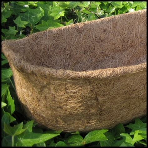 Coconut Husk Planter Liners by Large Coco Fiber Liners