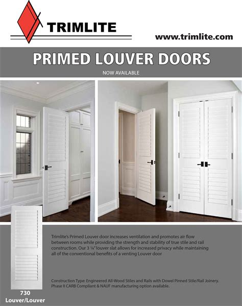 Modern Home Interior Design Plantation Louvered Doors Trimlite