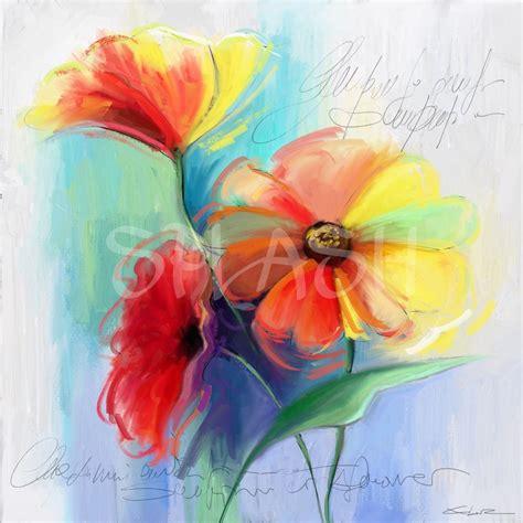 cuadro con flores cuadro de flores de color tiendas de cuadros modernos