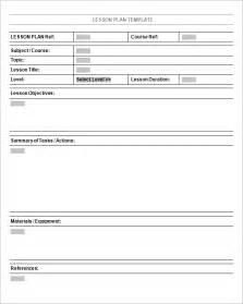 lesson plan template 5 free lesson plan templates excel pdf formats