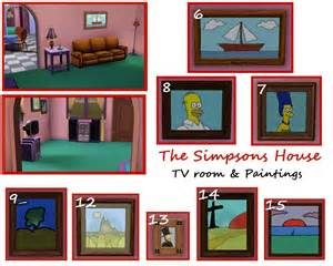 742 evergreen terrace floor plan mod the sims the simpsons house 742 evergreen terrace springfield
