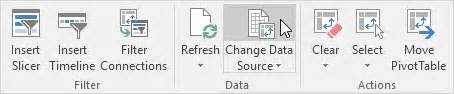 Change Data Source Pivot Table Update A Pivot Table In Excel Easy Excel Tutorial