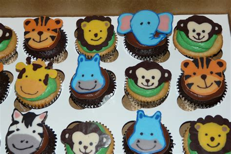 Animal Baby Shower Cake Ideas by Baby Animal Cupcakes Baby Shower Cup Cake