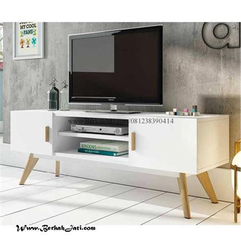 Meja Tv Cikarang bufet tv minimalis cat duco vintage berkah jati