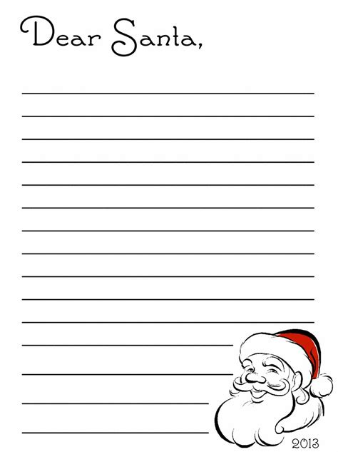 dear santa template search results for from santa letter template free