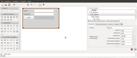 layout editor glade glade appuntisoftware it
