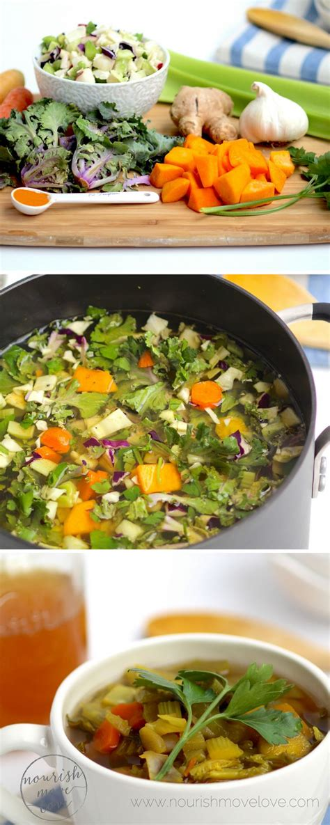 Detox With Vegetables by Cooker Detox Vegetable Soup Broth Recipe