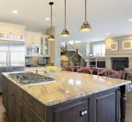 Light Fixtures Over Kitchen Island pendant lighting fixture placement guide for the kitchen