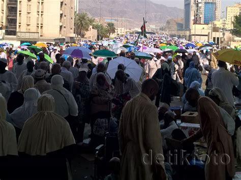 detiknews haji jumroh nafar awal selesai ribuan jemaah haji berduyun ke