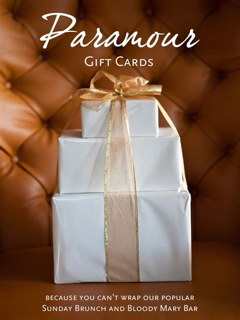 Good Gift Card - gift cards make great holiday gifts paramour