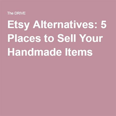 Best Place To Sell Handmade Crafts - 17 best ideas about selling handmade items on