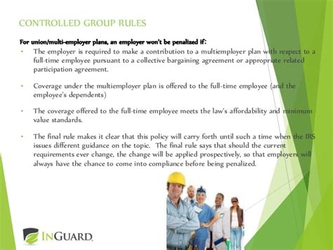 irc section 4980h the affordable care act update on the employer mandate