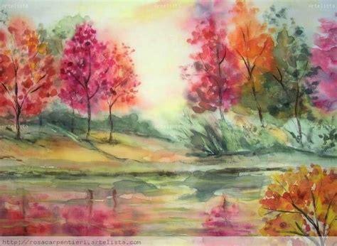 imagenes para pintar en acuarela 17 mejores ideas sobre paisaje en acuarela en pinterest
