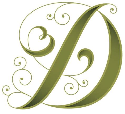 illustrative initial caps to beautify your blog with (free ... D Alphabet Design