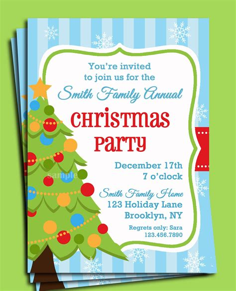 christmas invite ryhmes family invitations rhymes