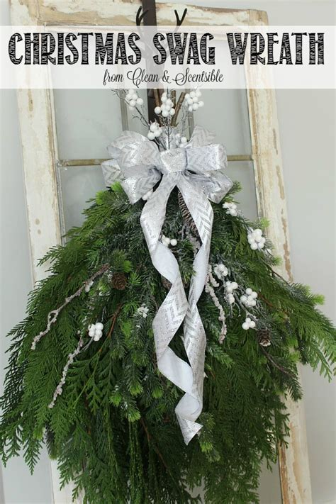 Design Your Own House Plan diy christmas swag wreath clean and scentsible