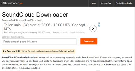 download mp3 from soundcloud google chrome best soundcloud downloader to download soundcloud music mp3