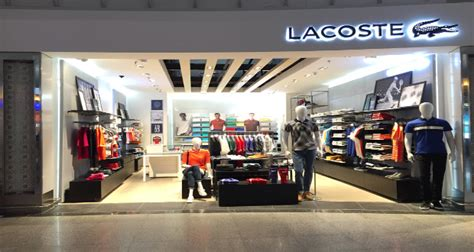 Home Interior Shops Online lacoste opens in hyderabad airport domestic terminal