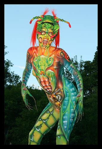 european painting festival in seeboden world bodypainting festival seeboden austria 2008 taken