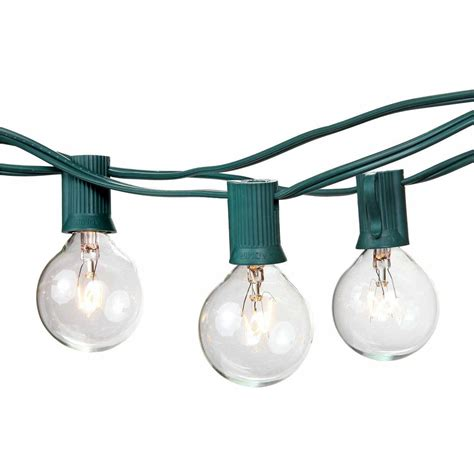 Commercial Outdoor String Lights Patio And Garden String Permanent Outdoor String Lights