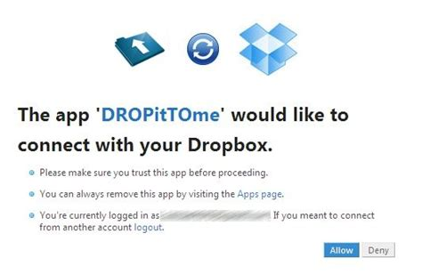 dropbox not connecting dropittome receive files to your dropbox securely