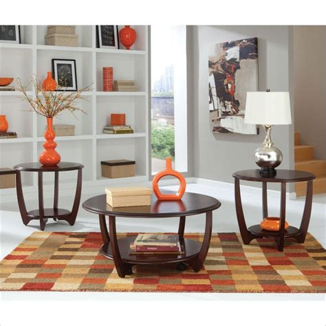 kathy orbit table l standard glass top cocktail and end tables set 27050