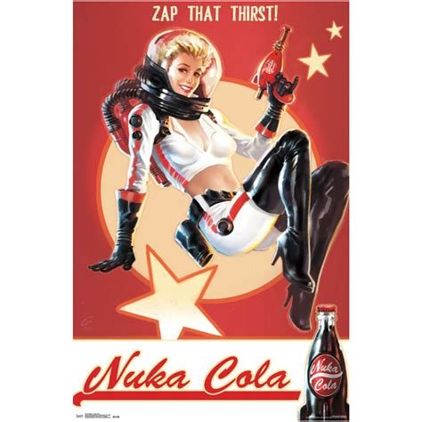 Home Goods Decor by Postersuperstars Fallout 4 Video Game Poster 22x34 Quot Nuka