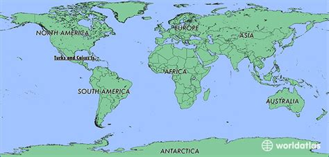 turks and caicos world map where is the turks and caicos islands where is the