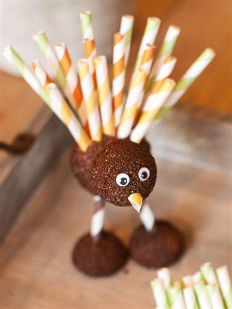 Handmade Turkey Crafts - thanksgiving craft foam turkeys hgtv