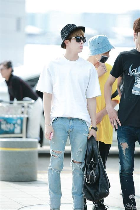 Jinjin Fashion bts airport fashion and airports on