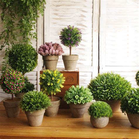 Decorative Plants For Home by High Imitation Potted Indoor Plants Decoration Simulation