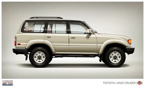 1992 Toyota Land Cruiser Toyota Land Cruiser 1992 Cartype