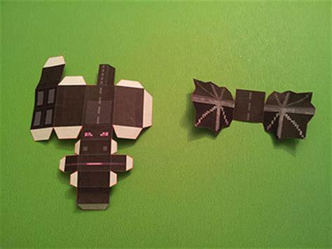 Minecraft Papercraft Enderdragon - papercraft mini ender