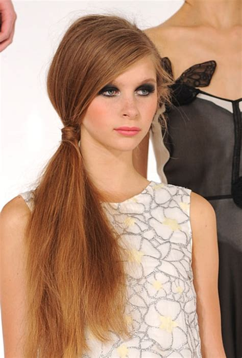 Side Pony Hairstyles by Side Ponytail Hairstyles Beautiful Hairstyles
