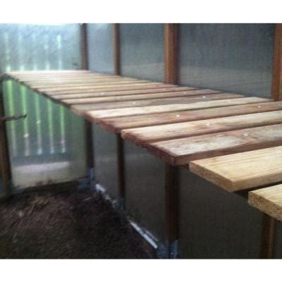 bench kits home depot bench kit for gkp816 greenhouse gkp816 bench the home depot