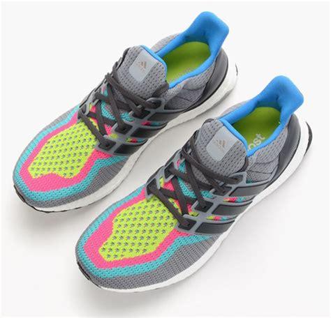 Sepatu Adidas Ultra Boost Rainbow White Multicolor Sneaker New 2017 adidas ultra boost grey multicolor sneakerfiles