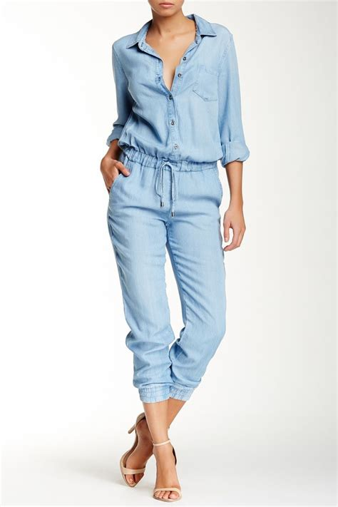Overall Jumpsuit Minnie Denim 17 best images about denim rompers on rompers