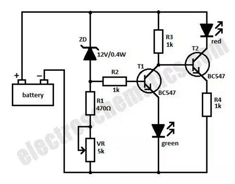 Baterai Tester Aki 12v Led Digital T16897 17 best images about electronic on bipolar arduino and circuit diagram
