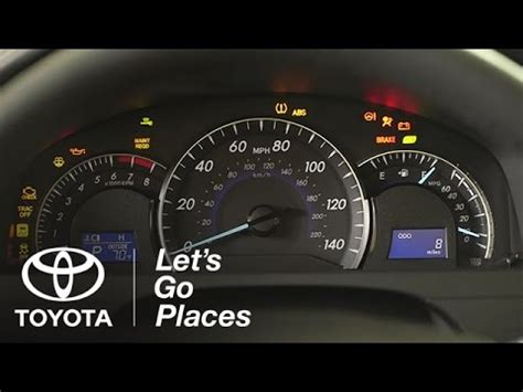 Toyota Camry 2013 Warning Lights What Does My Warning Light What Your Toyota Is