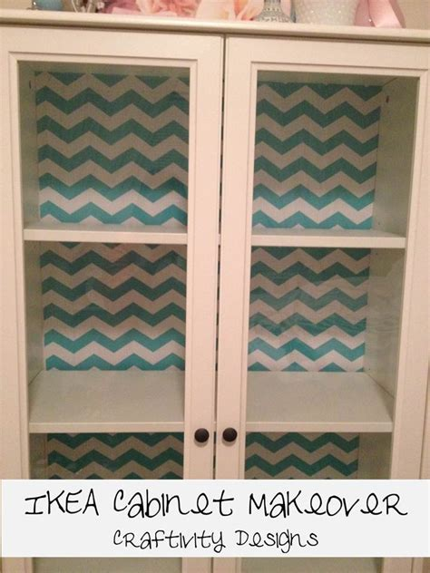 easy ikea cabinet makeover with shelf paper ikea hackers