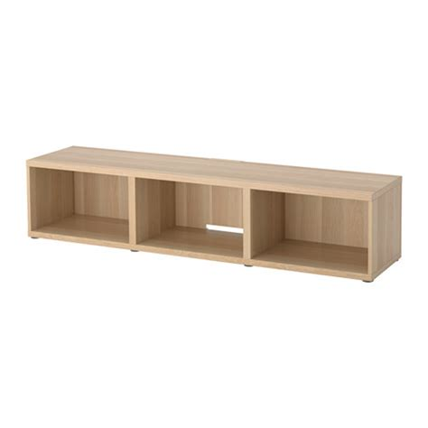 oak tv bench best 197 tv bench white stained oak effect ikea