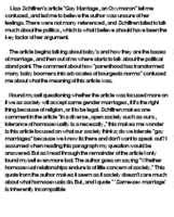 Pro Homosexuality Essay by Tips For Pro Marriage Essay