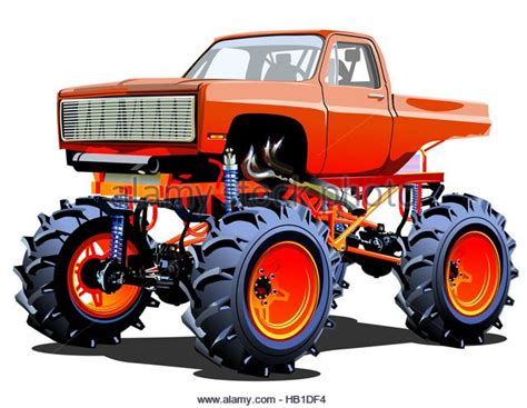 monster truck cartoon videos monster truck red stock photos monster truck red stock