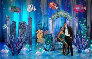 Teal Blue Chair Sashes Under The Sea With Xyz Rent My Wedding Blog