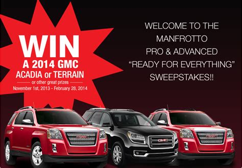 Gmc Acadia Sweepstakes - acadia car free sweepstakes autos post