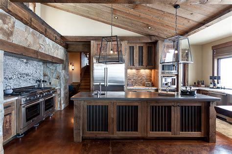 French Kitchen Backsplash by Corrugated Metal In Interior Design Mountainmodernlife Com